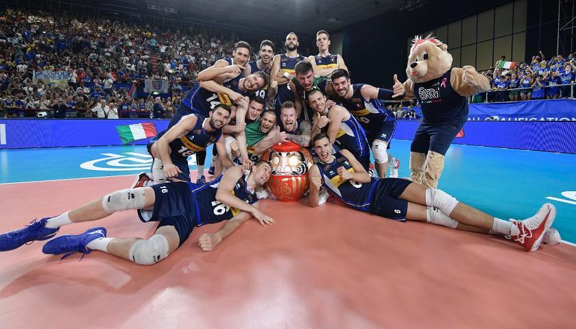 Mondiali Pallavolo Italia Calendario.Gli Azzurri Volano A Tokyo Pallavolo Rai Sport