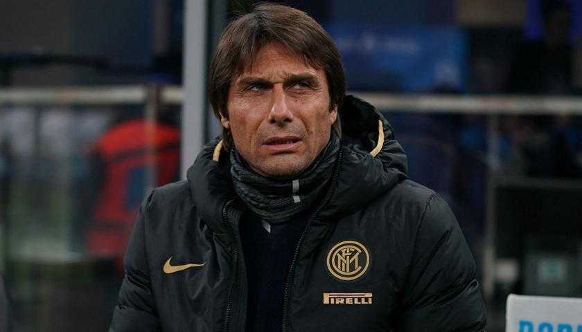 Antonio Conte tecnico dell'Inter