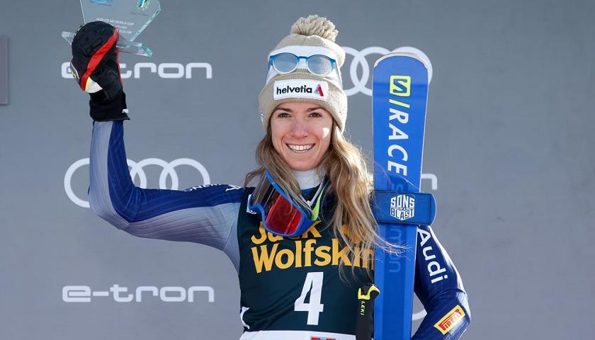Sci Alpino Marta Bassino Terza Nel Parallelo Di Sestriere Trionfa Direz Sport Invernali Rai Sport