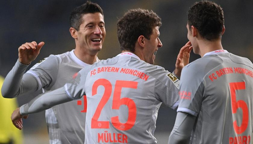 Robert Lewandowski e Thomas Muller