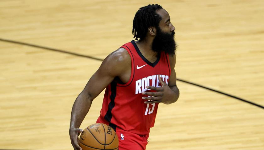 James Harden lascia Houston