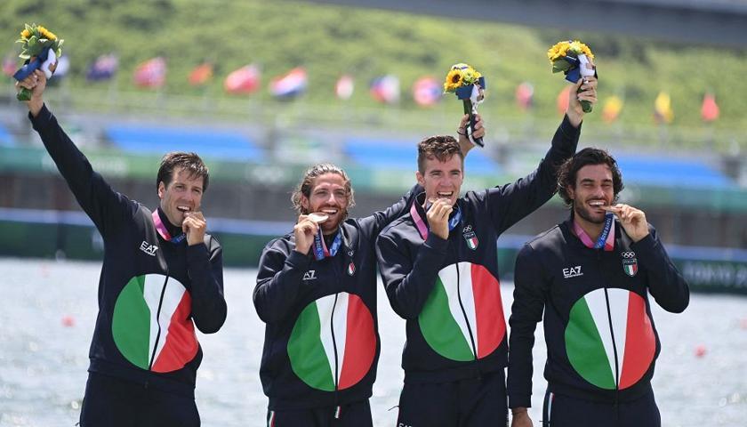 L'Italia è bronzo nel 4 senza di canottaggio - Grandi Eventi - Rai Sport