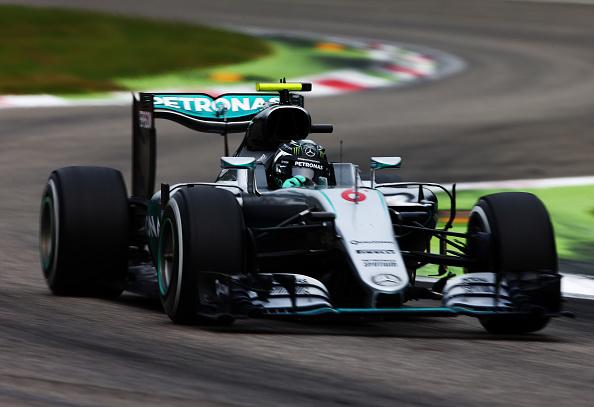 Doppietta Mercedes a Monza