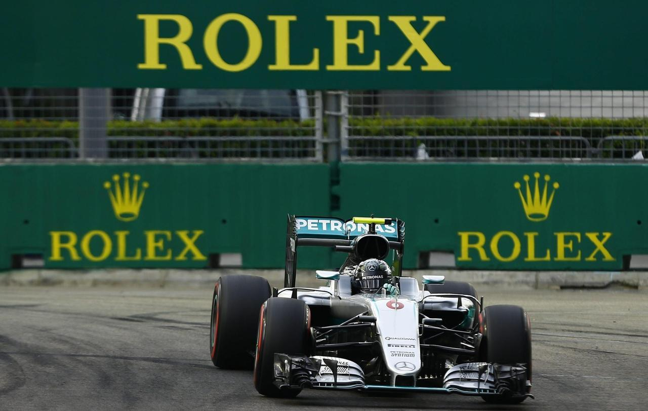 F1: Singapore, Rosberg in pole