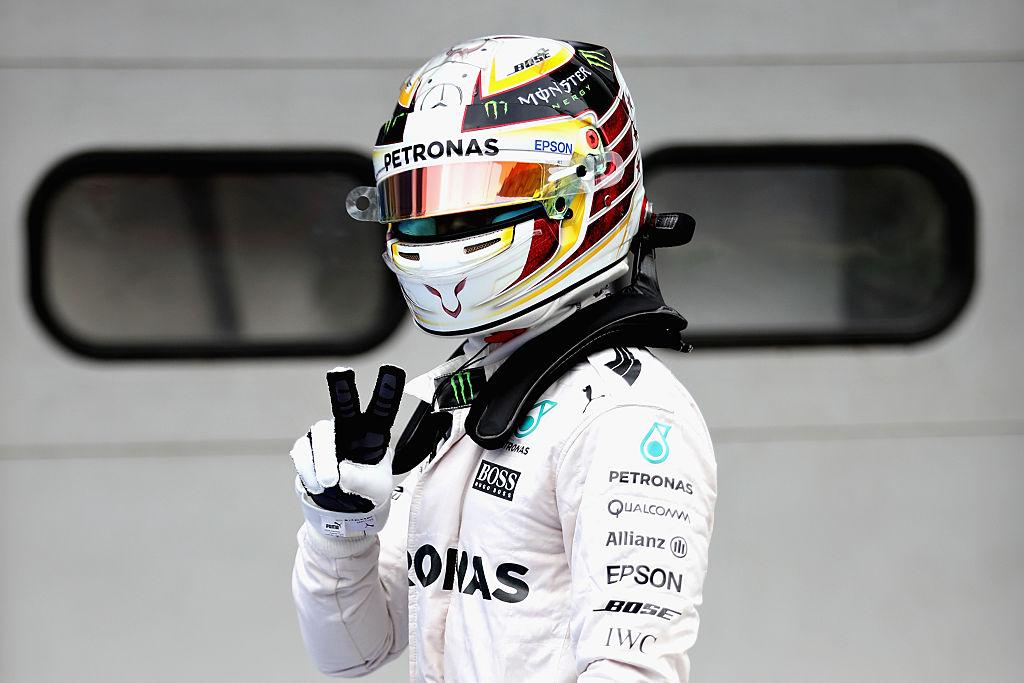 Hamilton in pole, Vettel quinto