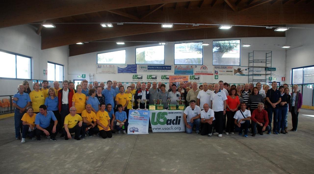 Us Acli: campionati di bocce a Savona
