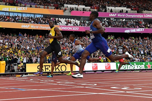 Bolt secondo ma in finale raisport for Finale 100 metri londra