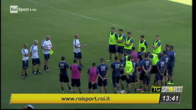 Azzurrini tra poco in campo video calcio raisport for Poco schlafsofa 88 euro