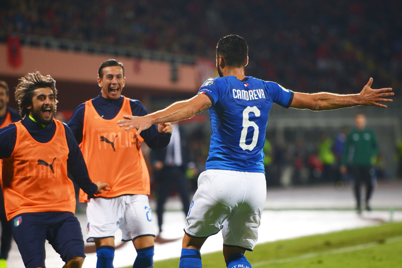 Albania - Italia 0-1 (Getty Images)