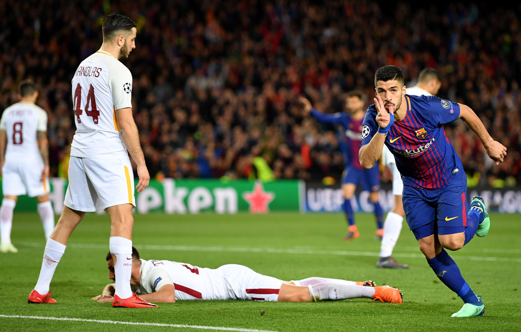 Barça - Roma 4-1 (Getty Images)