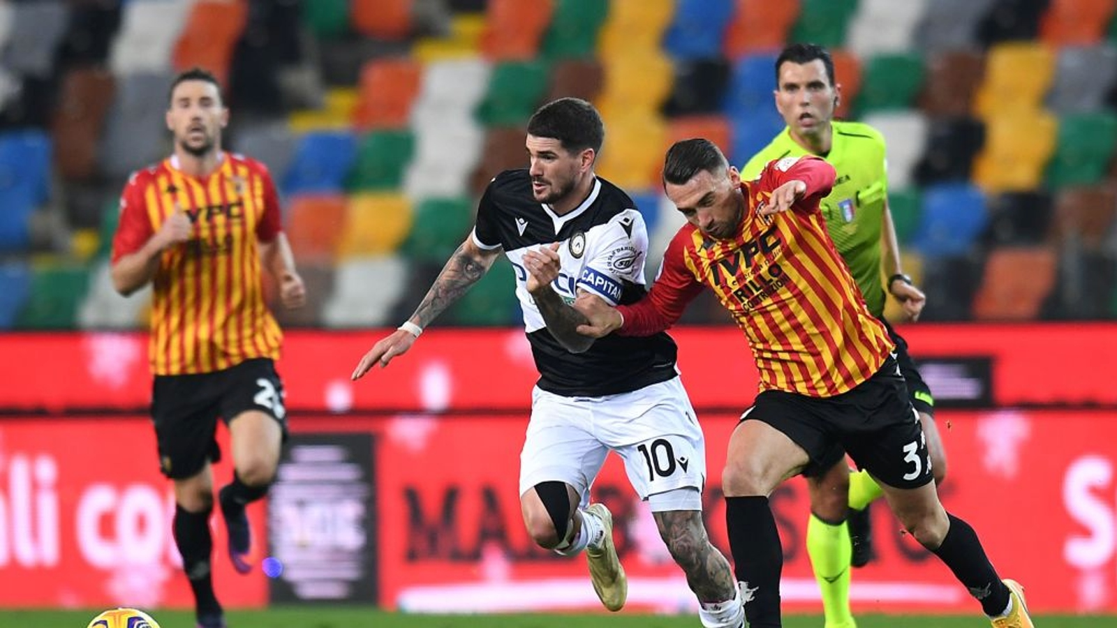 Udinese - Benevento 0-2 - Calcio - Rai Sport