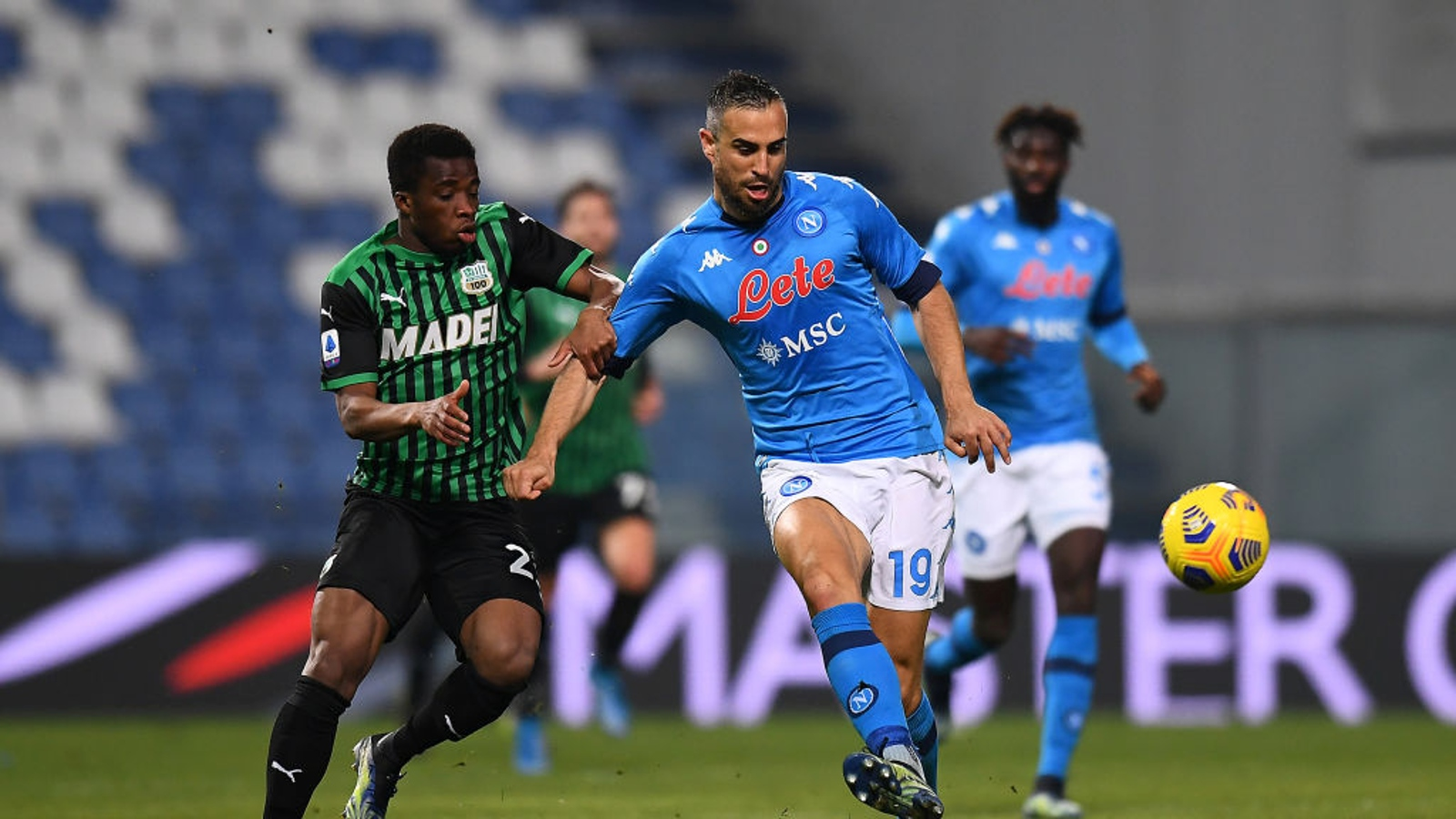 Sassuolo - Napoli 3-3 - Calcio - Rai Sport