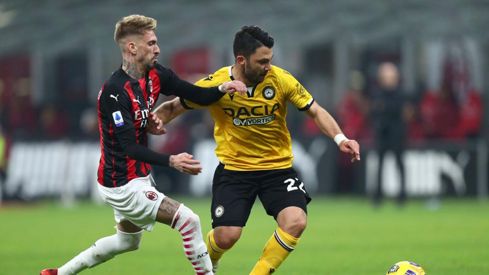 Milan - Udinese 1-1 - Calcio - Rai Sport